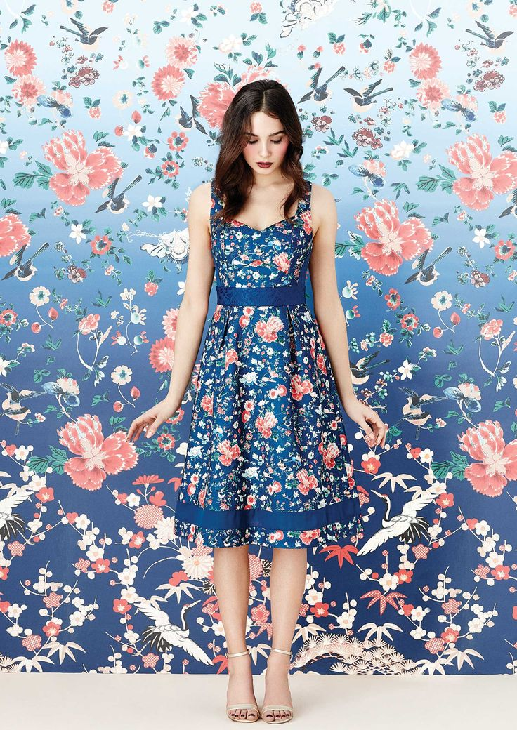 V&A Jacquard Midi Dress