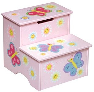 painted step stool