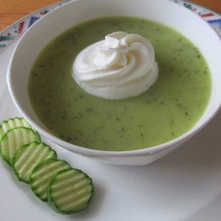 Rezept Zucchinisuppe von fauschi - Rezept der Kategorie Suppen