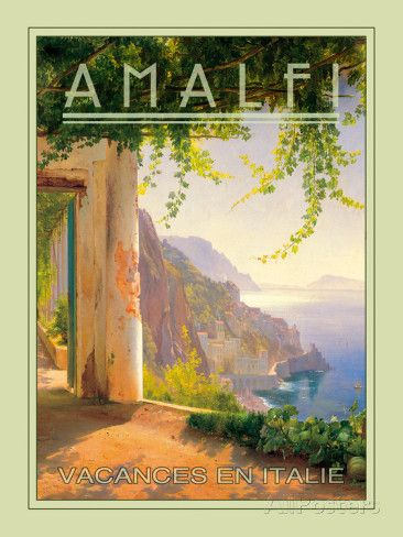 Amalfi Giclee Print at AllPosters.com