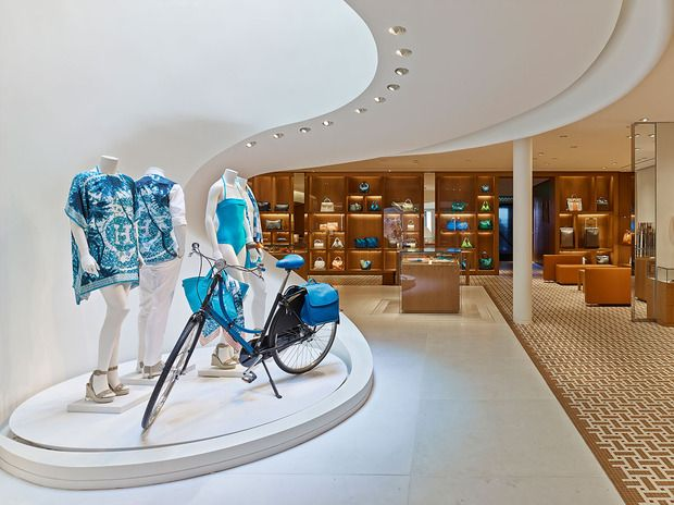 Hermès Beverly Hills A look into the new boutique on Rodeo Drive, stunningly redesigned by Rena Dumas Architecture Interieure