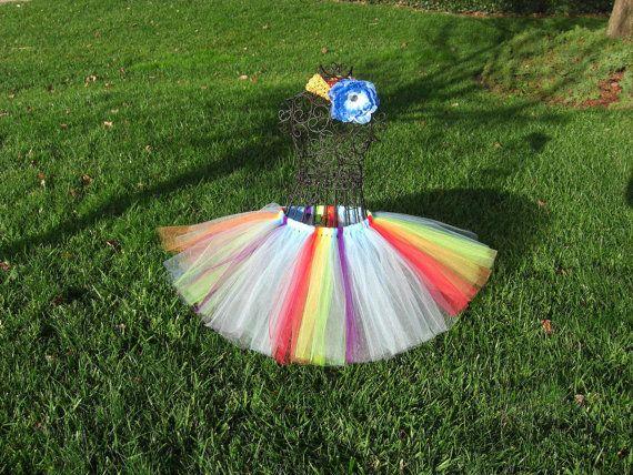 Rainbow Dash TutuMon petit poney anniversaire par TheSugaredRibbon