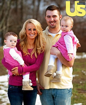 Leah and Corey from 16 and Pregnant had twins, one of which has developmental disabilities