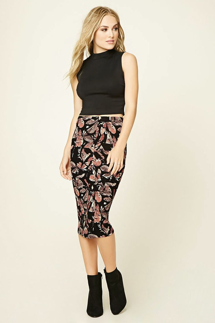 Contemporary Abstract Skirt