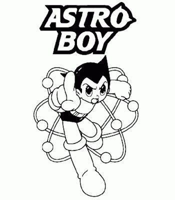 astro boy coloring pages learn to coloring