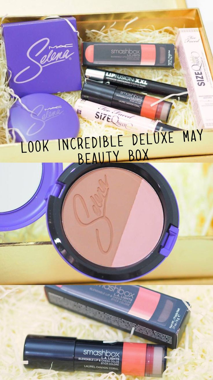 Look Incredible Deluxe May Beauty Box 2018 Unboxing and