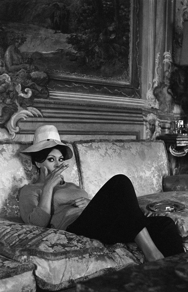 Sophia Loren in her Italian Villa 1964