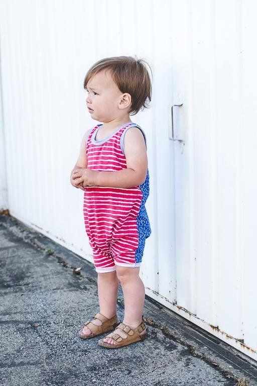 a82b6620f34 fourth of july romper 4th of july romper patriotic romper  babybottoms Toddler  Boy Fashion