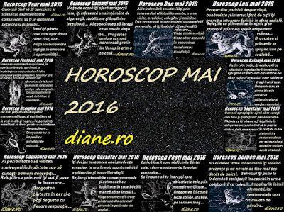 diane.ro: HOROSCOP MAI 201 6 - TOATE ZODIILE