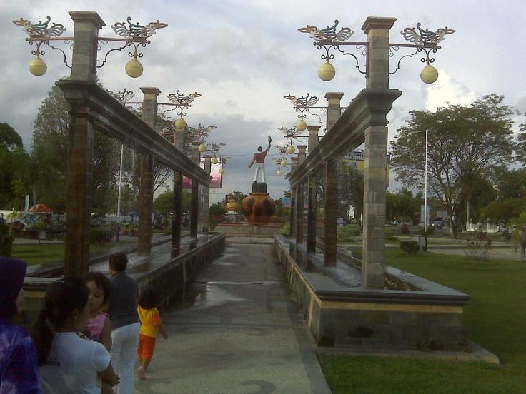 architectur dayak - Palangkaraya Borneo/Kalimantan