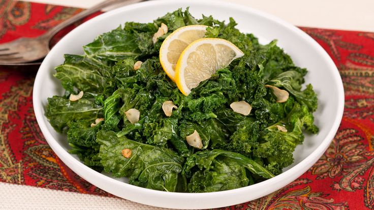 Lemony Kale - Recipes - Best Recipes Ever - Serve this easy side dish with grilled fish or chicken for a light supper.