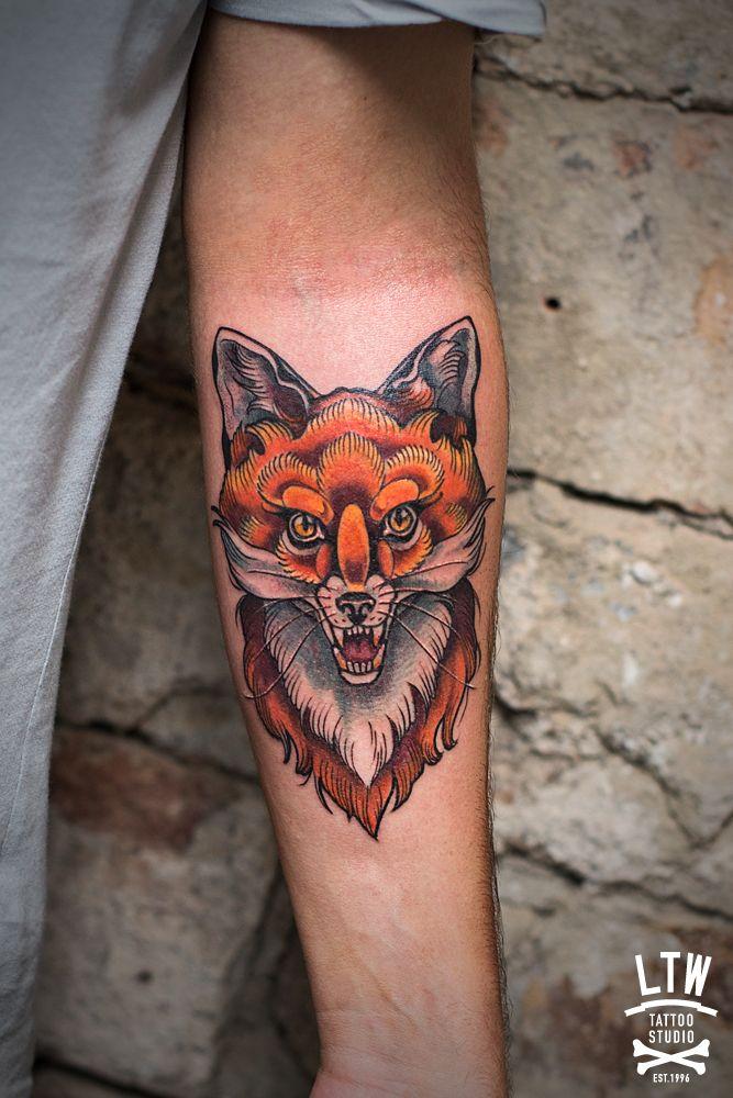 zorro dibujo tatuaje - Buscar con Google                                                                                                                                                     Más