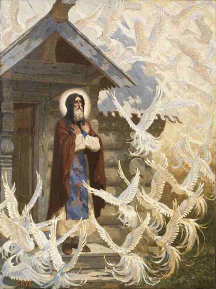Живописно-иллюстративно-православное. Сергей Ерошкин | МУЗА НАШЕГО ДВОРА