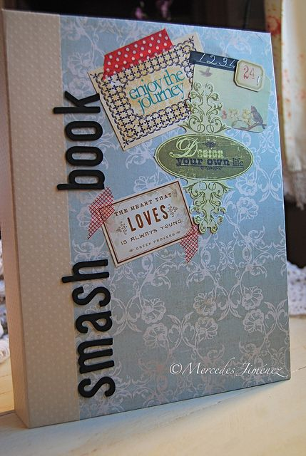 Smash book by jemerasp, via Flickr