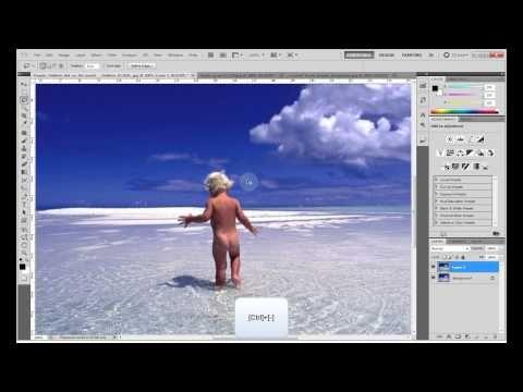 Photoshop - - Αφαίρεση αντικειμένων από φωτογραφίες - YouTube