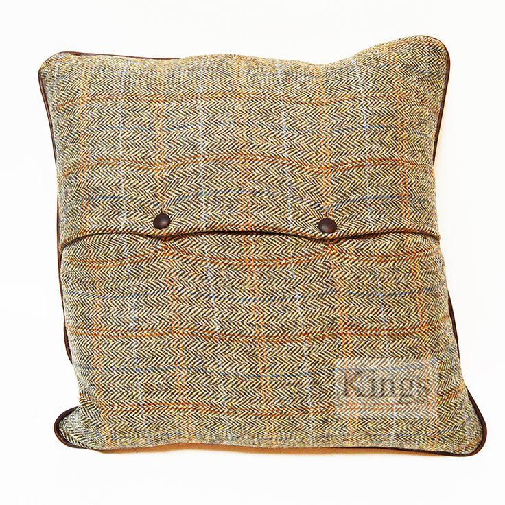 Tetrad Harris Tweed Medium Cushions £92. http://www.kingsinteriors.co.uk/brands/tetrad-harris-tweed/tetrad-harris-tweed-medium-cushion