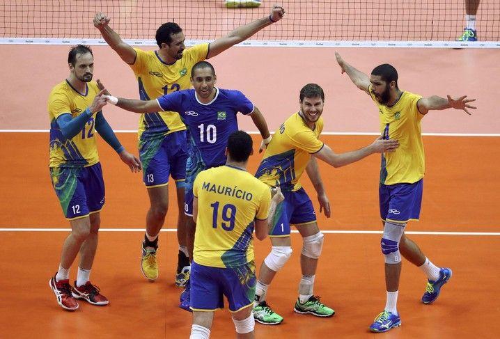 Brasil x Argentina vôlei masculino não existe o impossível!