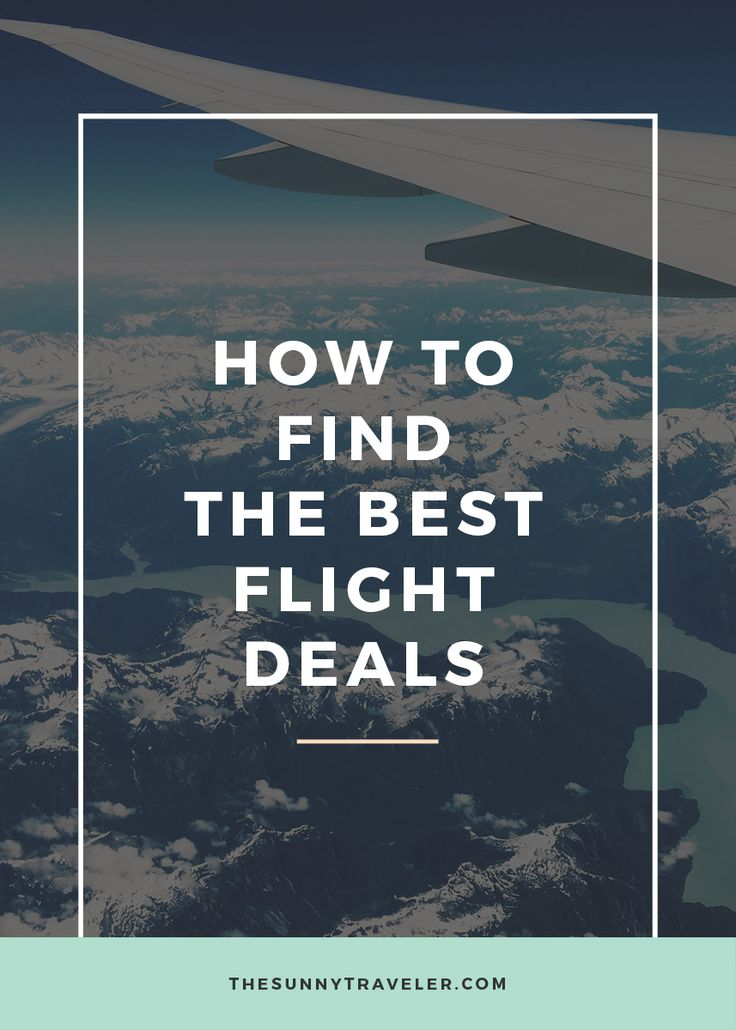Read my top ways for finding cheap flights on www.thesunnytraveler.com.