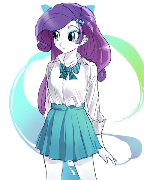 This picture of Rarity is so beautiful is is just simply but beautiful