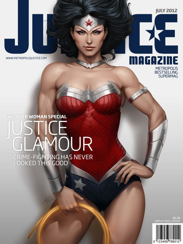Justice Magazine Covers Starring DC Comics Characters | Geeks are Sexy Technology News