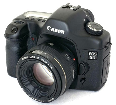 Bertha...my first professional camera. The canon 5d full frame sensor. I have two for backup. They never fail me.