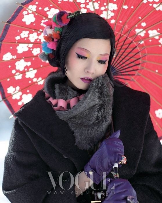 """""""Snowflakes"""" by J.Jo for Vogue Korea"""