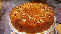 Torta 80 golpes acaramelada de manzana y nueces