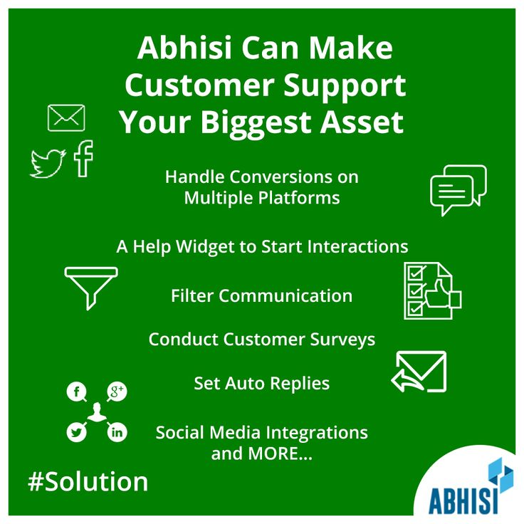 @Abhisi is a complete system to bridge communication gaps and boost interaction with both customers and prospects - https://www.abhisi.com/help-desk-software-advantage.html