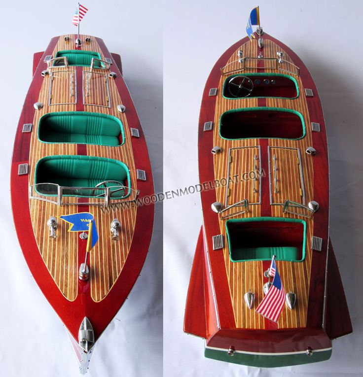Hacker-Craft is the name given to boats built by The Hacker Boat Co., the oldest builder of wooden motorboats in the world.