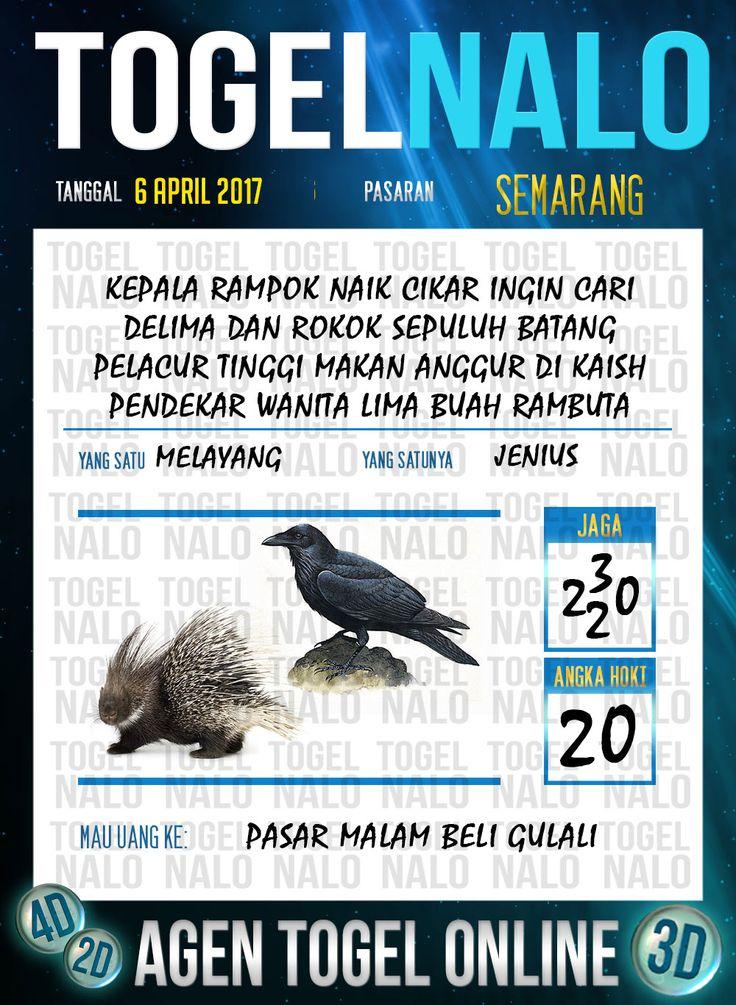 Angka Mimpi 4D Togel Wap Online TogelNalo Semarang 6 April 2017