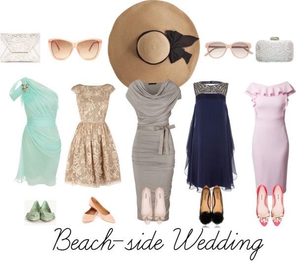 """Beach side wedding 2"" by hannahjillian14 on Polyvore"