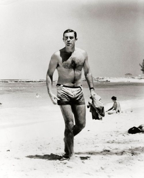 Sir Sean Connery is best known for portraying the character James Bond, starring in seven Bond films between 1962 and 1983. However, Sean Connery was a bodybuilder before he was an actor. Connery began bodybuilding at the age of 18, and from 1951 trained heavily with Ellington, a former gym instructor in the British army. While his official website claims he was third in the 1950 Mr. Universe contest, most sources place him in the 1953 competition, third in the Junior class.