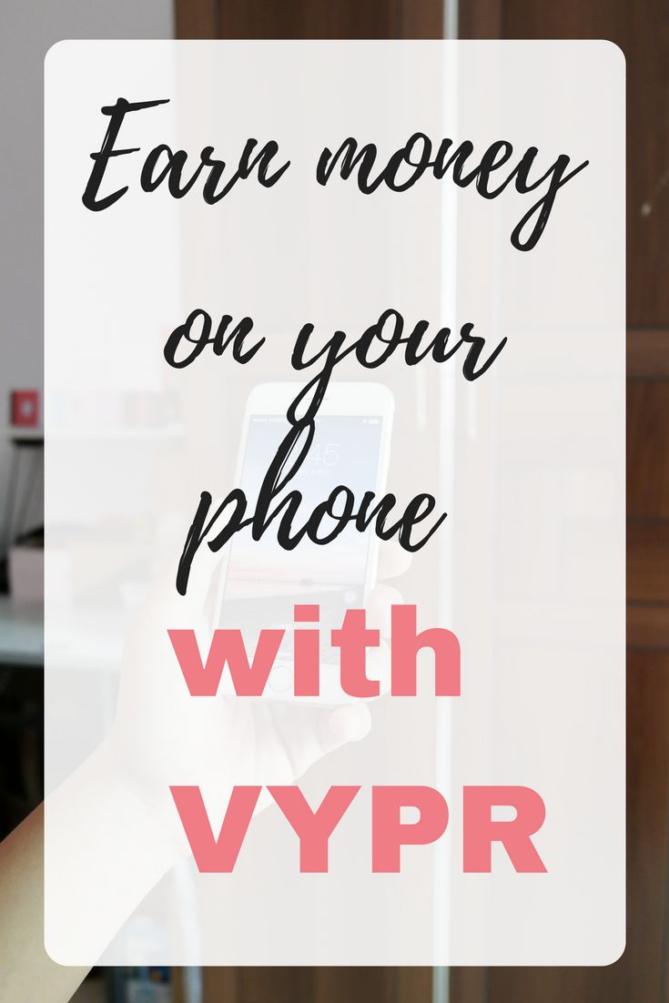 It's easy to make money from your phone, especially if you have a smartphone. It won't make you rich, but it's a good way to earn extra on the side. VYPR is an app available for iOS and Android that rewards you for completing very short surveys. Find out more about making money from home here by Emma at EmmaDrew.info. #MakingMoney #MakingMoneyFromHome #Homeworking #MoneyMaking #MakeMoneyFromHome #ExtraIncome