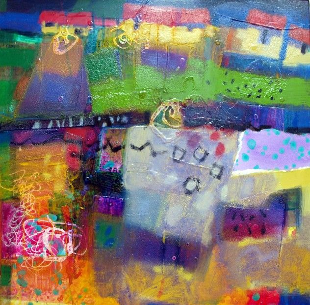Francis Boag, Villefranche Evening, Mixed Media | Scottish Contemporary Art