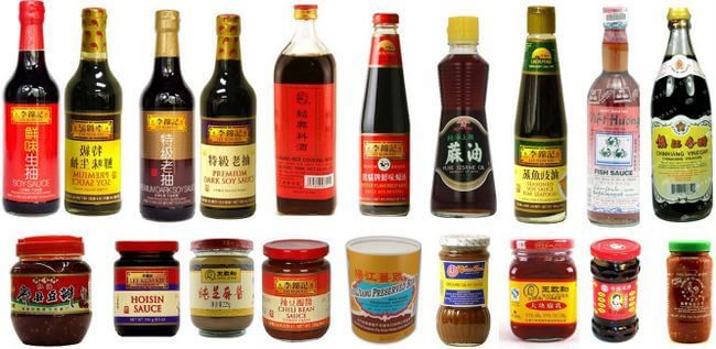 When cooking traditional Chinese food, you'll come across many Chinese sauces and Chinese condiments. Our list include many essential Chinese sauces used in our recipes