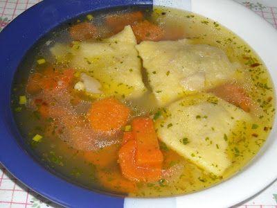 Makacska konyhája: Szabógallér leves