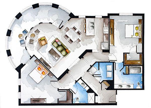 Floor Plans Photoshop Architectural Floor Plans Architecture Design Sketch Concept Architecture