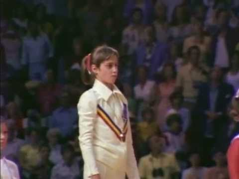 Nadia Comaneci - Olympic Gold (part 2), via YouTube.