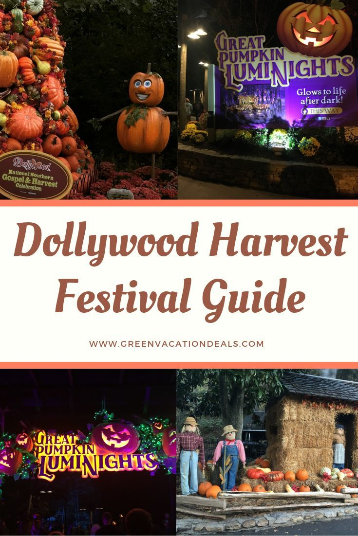 Traveling To Pigeon Forge Or Gatlinburg This Fall Then Head To The Harvest Festival At Dollywood Theme Park Our Gui Harvest Festival Dollywood Festival Guide
