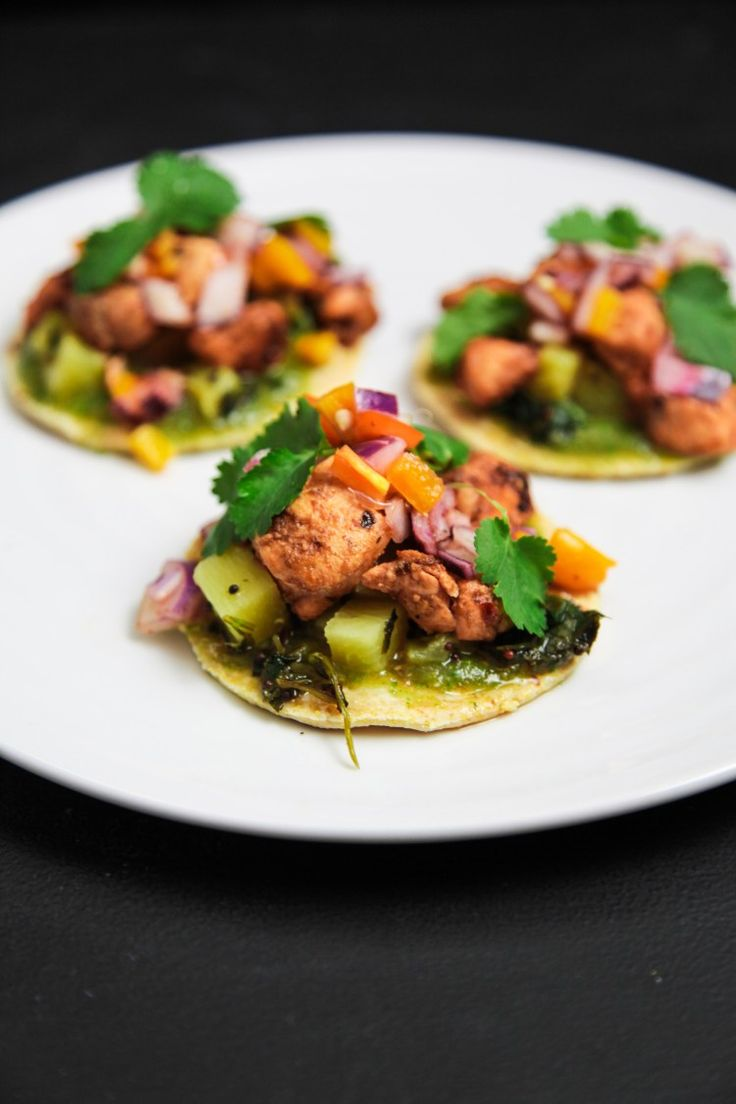 The Healthy Salmon Tacos that You Should Have Today | Berries and Spice