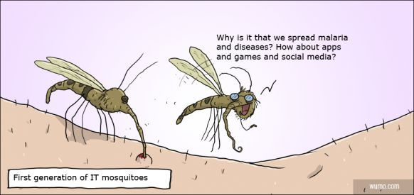 Meet Mark Suckerberg, the first IT mosquito