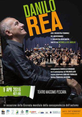 Giornata Mondiale della Consapevolezza dellAutismo oggi la presentazione del concerto di Danilo Rea