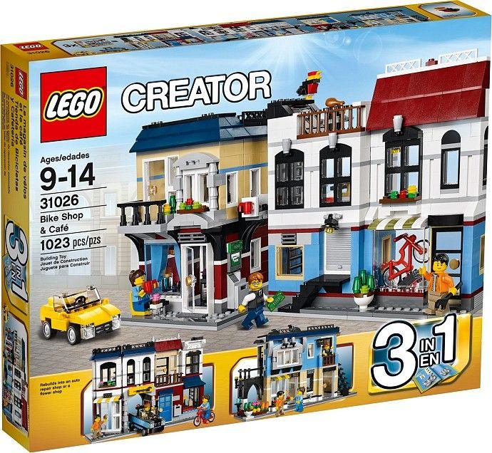 31026 - LEGO Creator Kerékpárüzlet és Kávéház