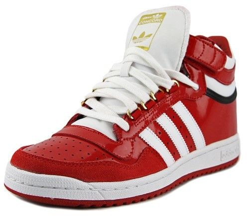 adidas Concord 2.0 Mid Men US 7.5 Red Sneakers
