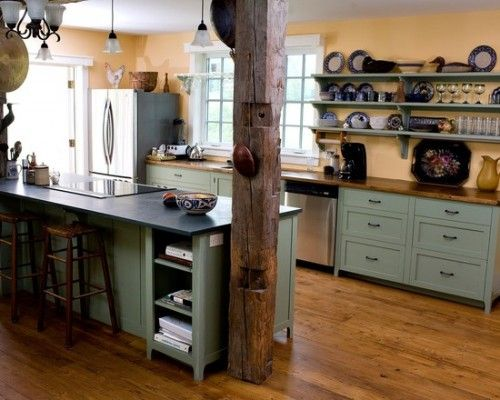 low ceiling cottage kitchens - Google Search