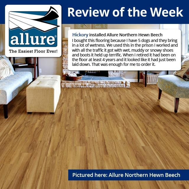 Bring A Natural Look To Your Kitchen, Bathroom And High Traffic Area By  Using Bavarian Beech Resilient Vinyl Plank Flooring From TrafficMASTER  Allure.
