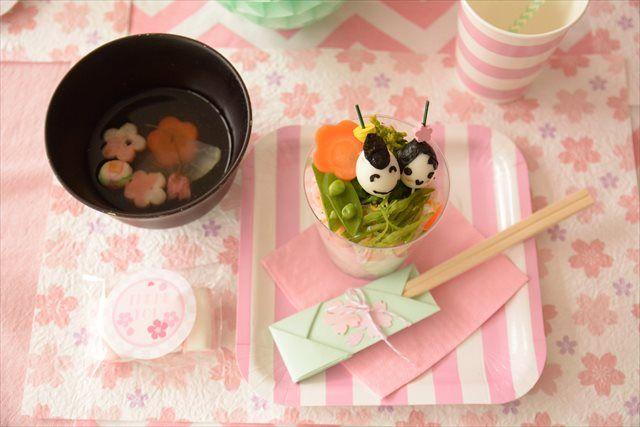 ひな祭りデコレーション hinamatsuri  japanese traditional spring party decoration by little lemonade