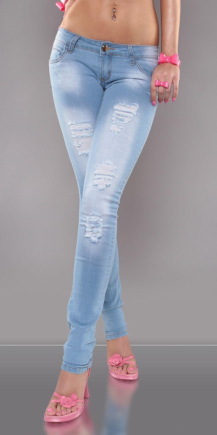 Motehus AS - Jeans - Oda blå