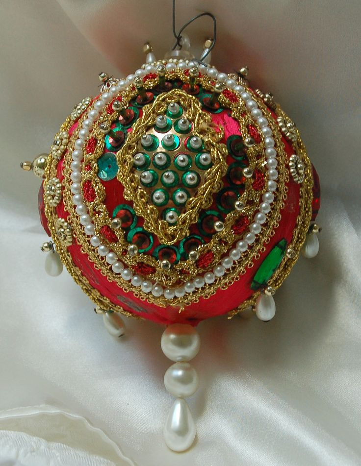 Handmade Victorian Ornament: