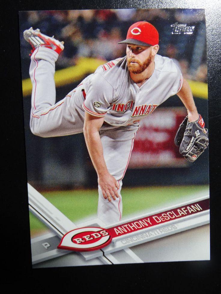 2017 Topps Series 1 #297 Anthony DeSclafani Cincinnati Reds Baseball Card #Topps #CincinnatiReds